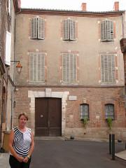 Ancien hôtel du Bosc (maison natale du peintre Henri de Toulouse-Lautrec) - Nederlands: Huis van Toulouse-Lautrec