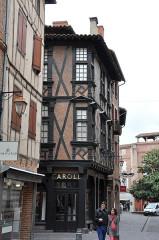 Maison Enjalbert -  Rue des Pénitents / Rue Timbal; Albi