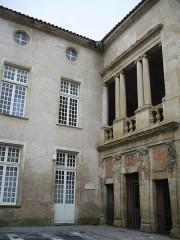 Ancien hôtel Poncet - Français:   Castres
