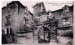 Hôtel de Viviès - Français:   photographie noir et blanc