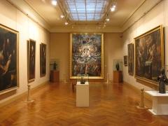 Ancien palais épiscopal - English:   Interior of Musée Goya in Castres, Tarn