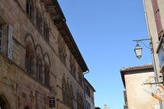 Immeuble dit maison Gaugiran - Occitan: Carrièra de Còrdoas a l'estiu de 2016.