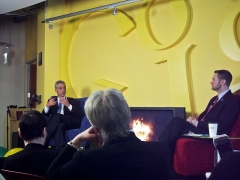 Maison du 14e siècle -  Google Chicago hosted a fireside chat with Chicago Mayoral candidate Rahm Emanuel.  The talk was a lot of fun, Rahm was very sharp and funny.  He particularly enjoyed the fact that google employees call ourselves