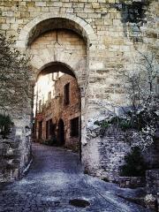 Porte de Rous -  Vue de Cordes-sur-Ciel, Tarn, France
