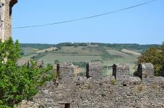 Remparts crénelés - Occitan: Carrièra de Còrdoas a l'estiu de 2016.