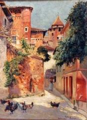 Maison dite Pierre de Biens - French painter and illustrator