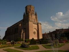 Eglise Saint-Alain - France, Lavaur, Cathédrale Saint-Alain, a été construite entre 1255 et 1300.