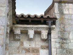 Eglise Saint-Michel - Deutsch: Kirche Saint-Michel in Lescure-d'Albigeois, Skulpturen am nördlichen Querschiff