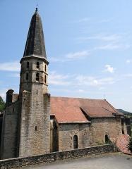 Eglise Saint-Jean-Baptiste - Français:   Caylus - Église Saint-Jean-Baptiste - Clocher