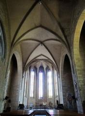 Eglise Saint-Jean-Baptiste - Français:   Caylus - Église Saint-Jean-Baptiste - Nef
