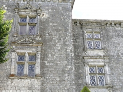 Château de Gramont - Français:   Château de Gramont (Tarn-et-Garonne) - Fenêtres Renaissance