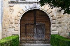 Château de Gramont - Français:   Porte du château de Gramont (Tarn-et-Garonne, France).