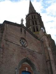 Eglise Saint-Martin - Français:   Église de la ville de Grisolles, commune française, située dans le département de Tarn-et-Garonne et la région Midi-Pyrénées.