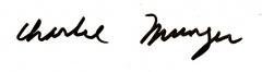 Maison du 15e siècle - English: Charlie Munger Signature