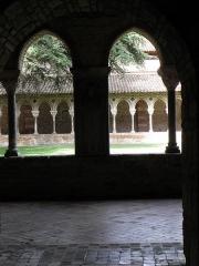 Eglise Saint-Pierre et son cloître - Français:   Cloître de l\'abbaye Saint-Pierre de Moissac (82).