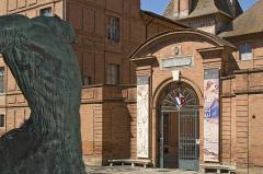 Ancien palais épiscopal, ancien Hôtel de ville, actuellement musée Ingres - Palais épiscopal Musée Ingres
