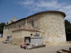 Eglise - Français:   Saint-Jean-du-Bouzet - Église Saint-Jean - Vue du chevet