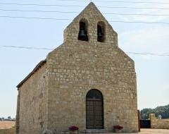 Eglise - Français:   Saint-Jean-du-Bouzet - Église Saint-Jean - Façade et clocher