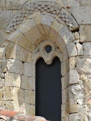 Eglise - Français:   Saint-Jean-du-Bouzet - Église Saint-Jean - Une fenêtre de l\'abside