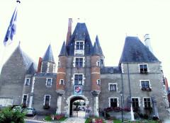 Château - Français:   Aubigny-sur-Nère - Château des Stuarts - Entrée