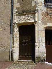 Château - Français:   Château d\'Aubigny-sur-Nère (Cher)