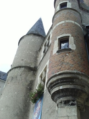 Château - Français:   Tour du château des Stuarts à Aubigny sur Nère