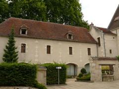 Ancienne abbaye Saint-Ambroix, puis hôtel de Bourbon - Français:   Bourges - Abbaye Saint-Ambroix