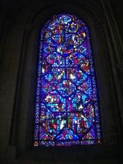 Cathédrale Saint-Etienne - Vitrail de la cathédrale Saint-Étienne de Bourges (Cher, France)