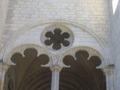 Cathédrale Saint-Etienne - Flanc nord de la cathédrale Saint-Étienne de Bourges (Cher, France)