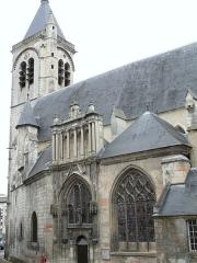 Eglise Notre-Dame - Français:   Bourges - Église Notre-Dame de Bourges