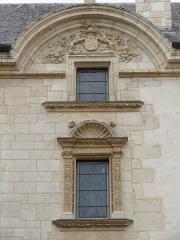 Hôtel Lallemant - Bourges - Hôtel Lallemant - Façade sur rue - Fronton