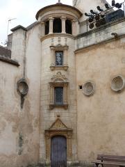 Hôtel Lallemant - Bourges - Hôtel Lallemant - Façade sur cour -Tourelle
