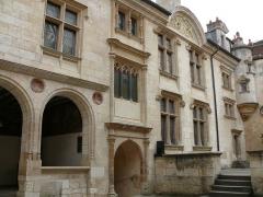 Hôtel Lallemant - Bourges - Hôtel Lallemant - Façade sur cour