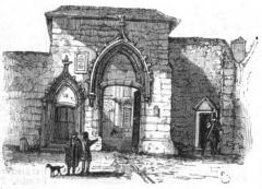 Ancien hôtel des Trésoriers de la Sainte-Chapelle - Deutsch: Das Hotel Panette in Bourges.
