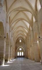 Ancienne abbaye de Noirlac -  Eglise de l'Abbaye de Noirlac (Cher), Chiesa dell'abbazia di Noirlac, Church of the Noirlac Abbey