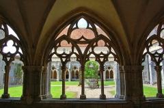 Ancienne abbaye de Noirlac -  Cloître de l'Abbaye de Noirlac (Cher), Chiostro dell'abbazia di Noirlac, Cloister of the Noirlac Abbey