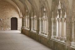 Ancienne abbaye de Noirlac - Cloître de l'abbaye de Noirlac (Bruère-Allichamps, Centre, France)