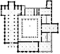 Ancienne abbaye de Noirlac - Image illustrant «L'abbaye de Fontenay et l'architecture cistercienne»