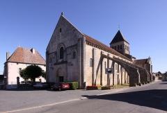 Eglise Saint-Blaise - Deutsch: La Celle - Ortschaft im französischen Département Cher - Kirche Saint-Blaise