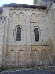 Eglise Saint-Martin - Français:   Église Saint-Éloi extérieur nord: arcades lombardes