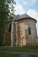 Eglise Saint-Michel (du prieuré Saint-Michel) - Deutsch: Kirche Saint-Michele in Chârost im Département Cher in der Region Centre (Frankreich)