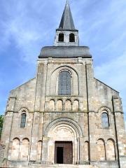Eglise Saint-Genès (anciennement église prieurale Saint-Etienne) - Français:   Châteaumeillant - Église Saint-Genès