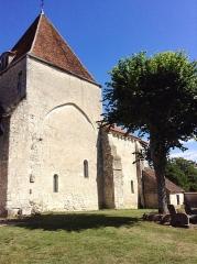 Eglise Saint-Martin - Français:   Église Saint-Martin de Corquoy (Cher)