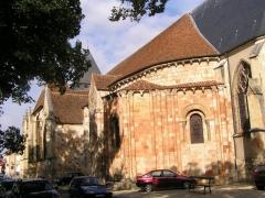 Eglise Saint-Etienne (collégiale) -  église de Dun/Auron
