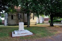 Eglise Saint-Paul - Français:   Lantan, Cher