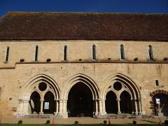 Ancienne abbaye Saint-Martin - Massay - Abbaye Saint-Martin - Bâtiment de la salle capitulaire