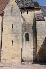 Eglise Saint-Martin - Français:   Nohant-en-Graçay - Eglise Saint-Martin Mur Sud