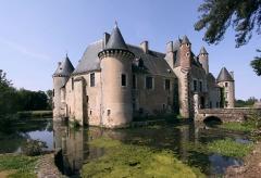 Château de Boucard - Deutsch: Schloss Boucard im französischen Département Cher