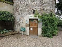 Château de la Verrerie - English: The souvenir shop of Verrerie Castle