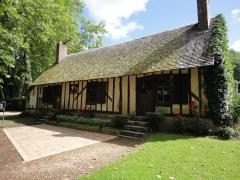 Château de la Verrerie - English: Restaurant La Maison d'Hélène near the Verrerie castle open since 1978
